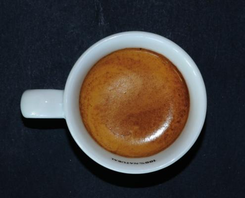 La crema del café Espresso