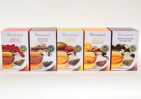 BOU Café lanza los nuevos sabores de tés Revolution